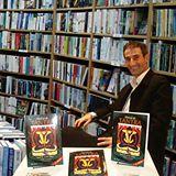 Oscar R. Gómez en la Feria del Libro de Buenos Aires