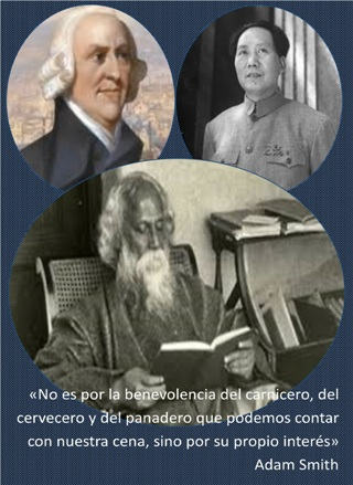 Smith, Mao, Tagore