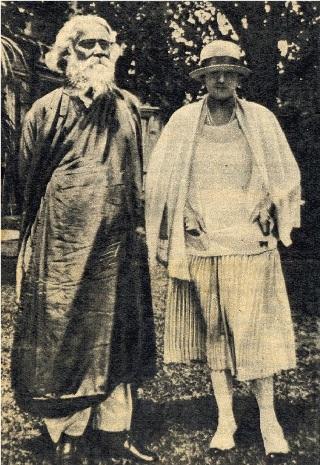 Tagore y Ocampo
