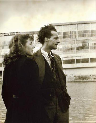 Simone de Beauvoir and Maurice Merleau-Ponty in 1930.
